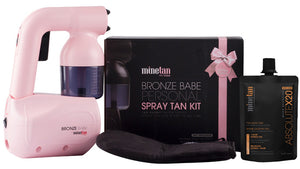 Mine Tan Bronze Babe Personal Spray Tan Kit Generation 2 Pink $99 Spray Tan Machines Mine Tan 9347108007786 Shop Cosmetics Online Glamabox Cosmetix ☆ Best Beauty Brands! Shop Skincare, Haircare & Makeup. Find all of your Beauty needs right here. Shop Makeup with Afterpay✓ Humm✓ Laybuy✓ Free Shipping*