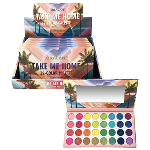 Okalan E051 Take Me Home 32 Color Palette $47.2 Eyeshadow Palettes Okalan Cosmetics 0665570221264 Shop Cosmetics Online Glamabox Cosmetix ☆ Best Beauty Brands! Shop Skincare, Haircare & Makeup. Find all of your Beauty needs right here. Shop Makeup with Afterpay✓ Humm✓ Laybuy✓ Free Shipping*