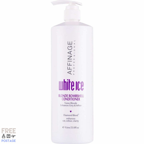 Affinage White Ice Blonde Bombshell Conditioner 1L    52.99 52.99 52.99 Affinage, Afterpay, All but, cf-type-conditioner, cf-vendor-affinage, conditioner, Freeshippingbadge, glama, Hair, hair care, Heavy Goods Conditioner Affinage 59.99 59.99 59.99 Title   Glamabox Cosmetix ☆