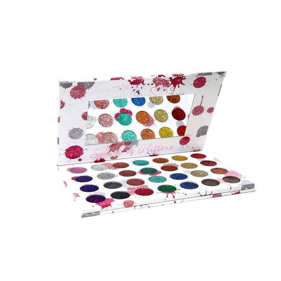 Beauty Creations - 28 Color Splash of Glitter Palette $39.99 Eyeshadow Palettes Beauty Creations Cosmetics 603149303386 Glamabox Cosmetix ☆ Afterpay Humm Pay  Laybuy Cosmetics Online Free Shipping