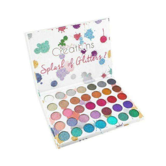 Beauty Creations - SPLASH OF GLITTERS 2 $39.99 Eyeshadow Palettes Beauty Creations Cosmetics 603149303522 Glamabox Cosmetix ☆ Afterpay Humm Pay  Laybuy Cosmetics Online Free Shipping