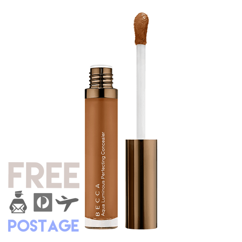 BECCA Aqua Luminous Perfecting Concealer 5.1g - Dark Golden $53.99 Concealer BECCA 9331137017779 Glamabox Cosmetix ☆ Afterpay Humm Pay  Laybuy Cosmetics Online Free Shipping