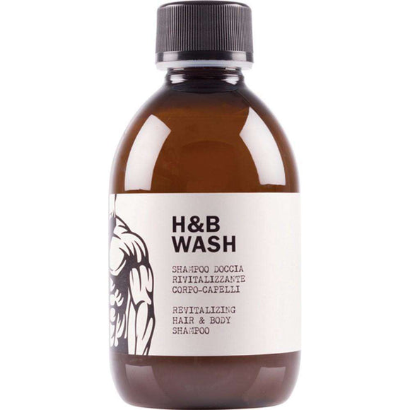 Dear Beard H&B Wash Revitalizing Hair & Body Shampoo 250ml $24.99 Shampoo Dear Beard 8033171814086 Glamabox Cosmetix ☆ Afterpay Humm Pay  Laybuy Cosmetics Online Free Shipping