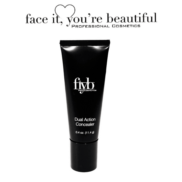FIYB Pro Cosmetics - Dual Action longwear Concealer $12.97 Concealer FIYB  Glamabox Cosmetix ☆ Afterpay Humm Pay  Laybuy Cosmetics Online Free Shipping