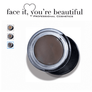 FIYB Pro Cosmetics Brow Balm - Deep Brunette  Afterpay, All but, Best Sellers, Boutique & Cult Cosmetics, brow paste, cf-type-brow-balm, cf-vendor-fiyb, EB, extravaganza, extravaganza 50, FIYB, Freeshippingbadge, makeup, Medium Goods Brow Balm FIYB  Glamabox Cosmetix ☆