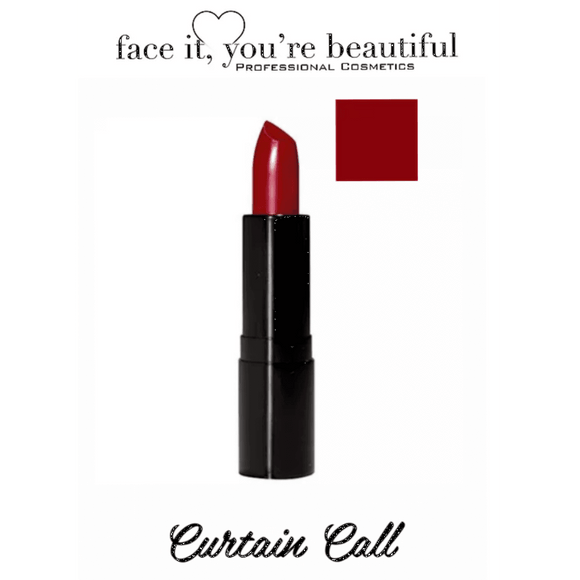 FIYB Pro Cosmetics Luxury Matte Lipstick - Curtain Call $19.96 Lipstick FIYB  Shop Cosmetics Online Glamabox Cosmetix ☆ Best Beauty Brands! Shop Skincare, Haircare & Makeup. Find all of your Beauty needs right here. Shop Makeup with Afterpay✓ Humm✓ Laybuy✓ Free Shipping*