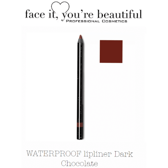 FIYB Pro Cosmetics WATERPROOF lip liner - Dark Chocolate $19.96 Lip Liner FIYB  Shop Cosmetics Online Glamabox Cosmetix ☆ Best Beauty Brands! Shop Skincare, Haircare & Makeup. Find all of your Beauty needs right here. Shop Makeup with Afterpay✓ Humm✓ Laybuy✓ Free Shipping*