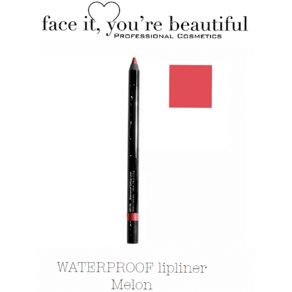 FIYB Pro Cosmetics WATERPROOF lip liner - Melon $12.47 Lip Liner FIYB  Glamabox Cosmetix ☆ Afterpay Humm Pay  Laybuy Cosmetics Online Free Shipping