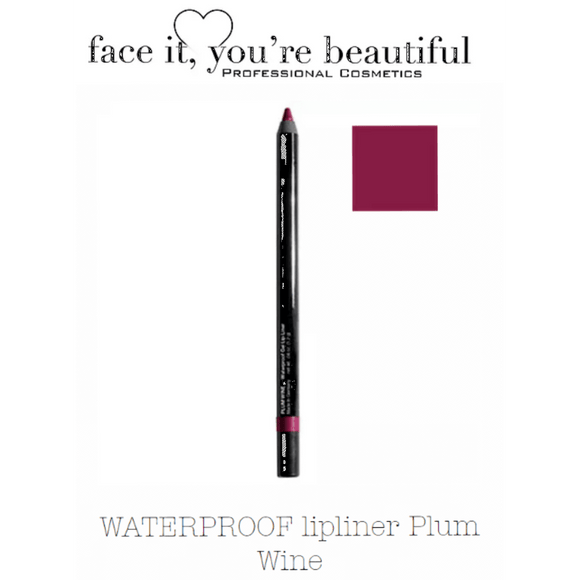 FIYB Pro Cosmetics WATERPROOF lip liner - Wine $12.47 Lip Liner FIYB  Glamabox Cosmetix ☆ Afterpay Humm Pay  Laybuy Cosmetics Online Free Shipping