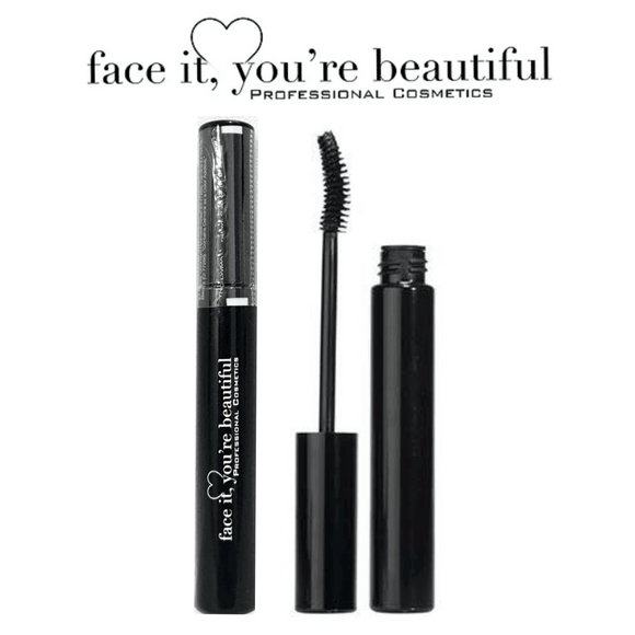 FIYB Pro Cosmetics Waterproof Mascara - Black $12.75 Mascara FIYB  Glamabox Cosmetix ☆ Afterpay Humm Pay  Laybuy Cosmetics Online Free Shipping