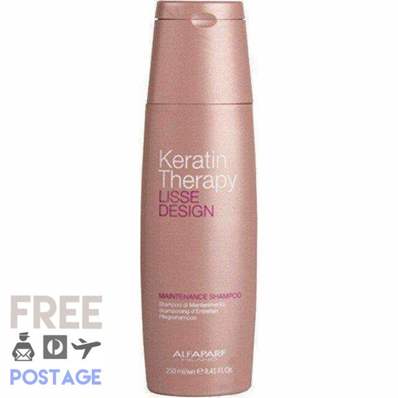 Keratin Therapy Lisse Design Maintenance Shampoo 250ml $32.99 Shampoo Alfaparf  Glamabox Cosmetix ☆ Afterpay Humm Pay  Laybuy Cosmetics Online Free Shipping