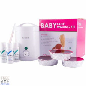 Lycon LycoPro Baby Face Waxing Kit $61 Waxing Kits & Value Sets Lycon 9324313004397 Shop Cosmetics Online Glamabox Cosmetix ☆ Best Beauty Brands! Shop Skincare, Haircare & Makeup. Find all of your Beauty needs right here. Shop Makeup with Afterpay✓ Humm✓ Laybuy✓ Free Shipping*