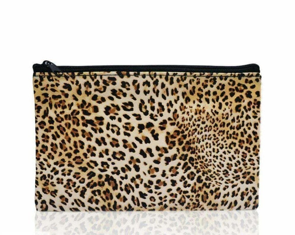 Makeup Pouch Leopard $6.99 Makeup Bag Generic  Glamabox Cosmetix ☆ Afterpay Humm Pay  Laybuy Cosmetics Online Free Shipping
