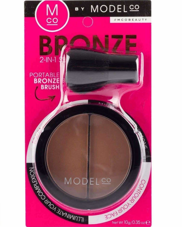 ModelCo Bronze 2 In 1 Duo $13.59 Bronzer - Makeup ModelCo 9331880006075 Shop Cosmetics Online Glamabox Cosmetix ☆ Best Beauty Brands! Shop Skincare, Haircare & Makeup. Find all of your Beauty needs right here. Shop Makeup with Afterpay✓ Humm✓ Laybuy✓ Free Shipping*