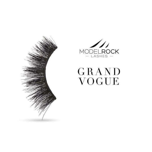 MODELROCK LASHES - Grand Vogue - Double Layered Lashes $11.95 False Lashes MODELROCK Lashes 9348154002800 Glamabox Cosmetix ☆ Afterpay Humm Pay  Laybuy Cosmetics Online Free Shipping