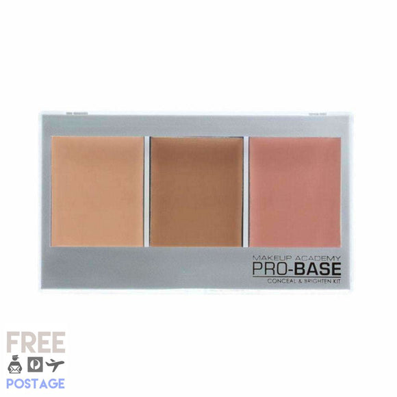 MUA Pro Base Conceal & Brighten Kit Beige - Golden 11g $9.99 Concealer MUA 5055402933130 Glamabox Cosmetix ☆ Afterpay Humm Pay  Laybuy Cosmetics Online Free Shipping