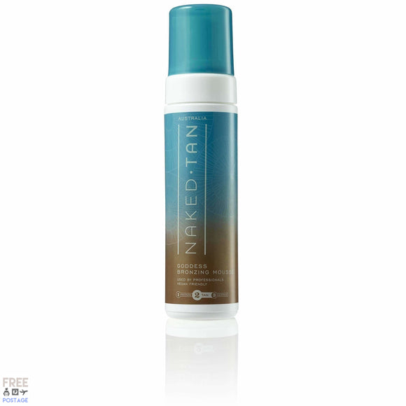 Naked Tan Goddess Bronzing Mousse 180ml $35.99 Self Tanning Naked Tan  Shop Cosmetics Online Glamabox Cosmetix ☆ Best Beauty Brands! Shop Skincare, Haircare & Makeup. Find all of your Beauty needs right here. Shop Makeup with Afterpay✓ Humm✓ Laybuy✓ Free Shipping*