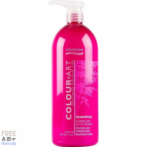 Natural Look Colour Art Shampoo 1L $37.99 Shampoo Natural Look  Glamabox Cosmetix ☆ Afterpay Humm Pay  Laybuy Cosmetics Online Free Shipping