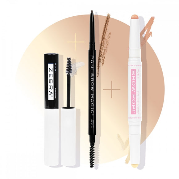 PONi Cosmetics - Magic Brows Bundle