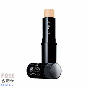 Revlon Photoready In-sta-Fix Makeup Stick 130 Shell 6.8g $11.19 Foundation Stick Revlon  Shop Cosmetics Online Glamabox Cosmetix ☆ Best Beauty Brands! Shop Skincare, Haircare & Makeup. Find all of your Beauty needs right here. Shop Makeup with Afterpay✓ Humm✓ Laybuy✓ Free Shipping*