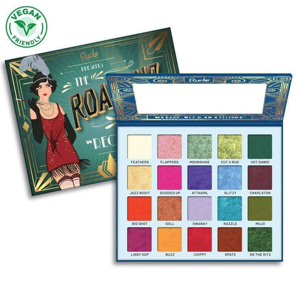 Rude The Roaring 20's Eyeshadow Palette 30g - Reckless $44.99 Eyeshadow Palettes Rude 602989880057 Shop Cosmetics Online Glamabox Cosmetix ☆ Best Beauty Brands! Shop Skincare, Haircare & Makeup. Find all of your Beauty needs right here. Shop Makeup with Afterpay✓ Humm✓ Laybuy✓ Free Shipping*