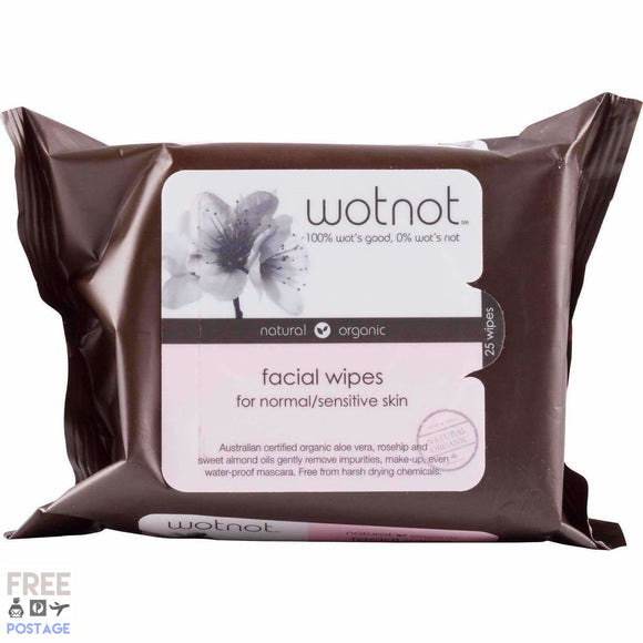Wotnot Sensitive Facial Wipes 25pk $7.19 Facial Cleansing Wipes Wotnot  Shop Cosmetics Online Glamabox Cosmetix ☆ Best Beauty Brands! Shop Skincare, Haircare & Makeup. Find all of your Beauty needs right here. Shop Makeup with Afterpay✓ Humm✓ Laybuy✓ Free Shipping*