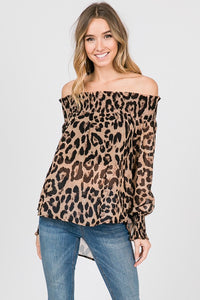 Wild Thing Off The Shoulder Top