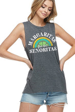Load image into Gallery viewer, Margaritas Senoritas Tank