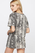 Load image into Gallery viewer, Snakeskin Tee