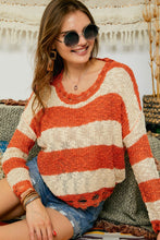 Load image into Gallery viewer, Here We Go Orange Sweater