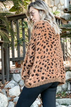 Load image into Gallery viewer, Leopard Feather- Wide Sleeve Sweater