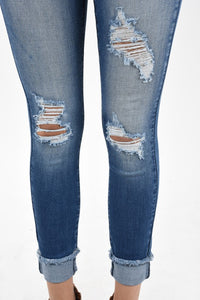 Look At Me- Distressed Jean