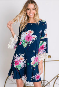 Tell Me I'm Beautiful Floral Dress