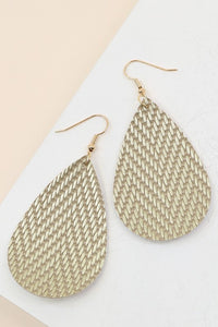 Fall For Me Earring- Gold