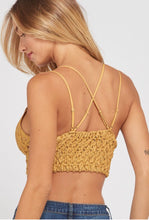 Load image into Gallery viewer, Mustard Lace Bralette