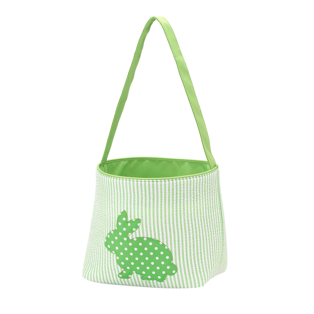 Green Cotton Tail Easter Basket