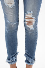 Load image into Gallery viewer, Walk the Line Jeans - Light Wash Distressed