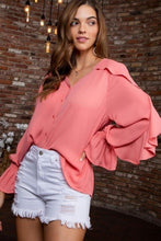 Load image into Gallery viewer, Spring is Near- Belle Sleeve Top