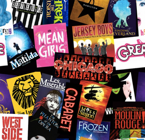 Broadway Musicals Collage