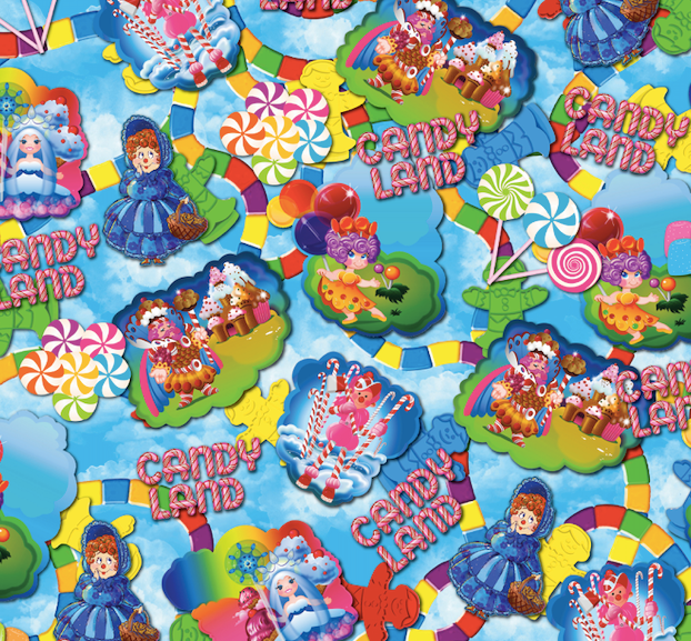 Candy Land Blue
