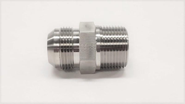2404 - Male Connector - 316SS