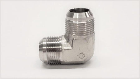 90 Degree Hydraulic Fitting - 2500 - MALE 90° ELBOW UNION - 316SS - Jupiter Stainless & Alloy -  Buy Metals Online.