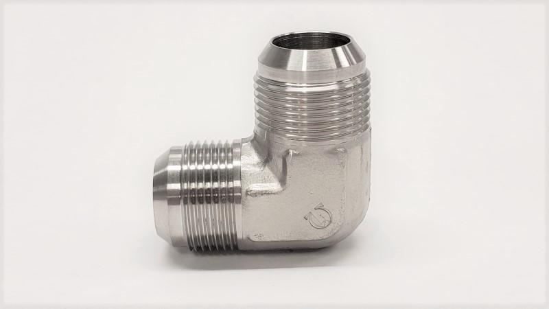 90 Degree Hydraulic Fitting - 2500 - MALE 90° ELBOW UNION - 316SS