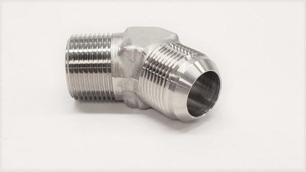 2503- 45° Male Elbow - 316SS