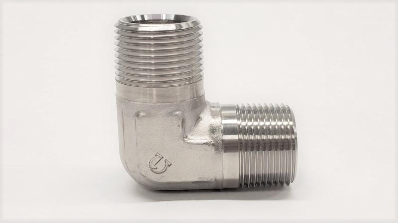 5500 - Male NPT 90° Elbow - 316SS - Jupiter Stainless & Alloy -  Buy Metals Online.