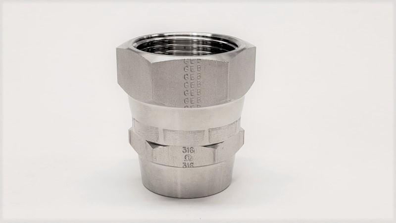 Butt-Weld Hose Connector Female JIC Swivel - Jupiter Stainless & Alloy -  Buy Metals Online.