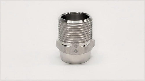 Butt-Weld Hose Connector Male NPT - Jupiter Stainless & Alloy -  Buy Metals Online.
