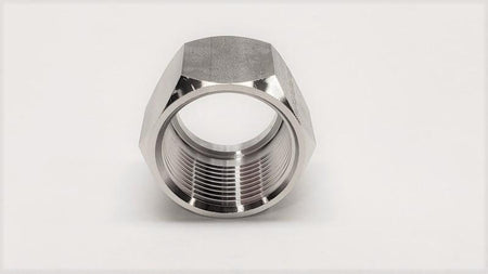 37° Flared JIC Tube Nut - Jupiter Stainless & Alloy -  Buy Metals Online.