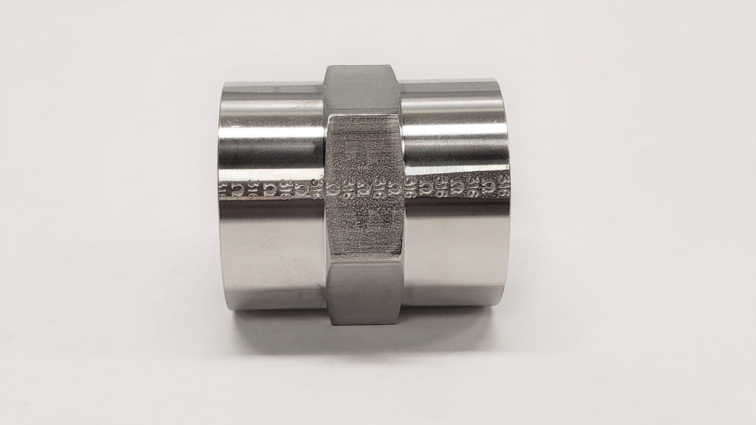 5000 - Female NPT Pipe Coupling - Jupiter Stainless & Alloy -  Buy Metals Online.