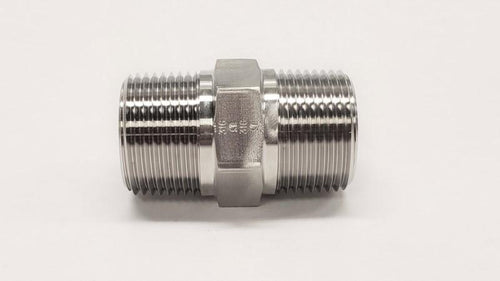 5404 - Male NPT Hex Pipe Nipple- 316SS - Jupiter Stainless & Alloy -  Buy Metals Online.
